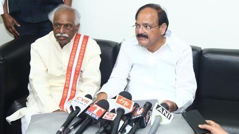 BJP's Venkaiah Naidu becomes 13th vice-president