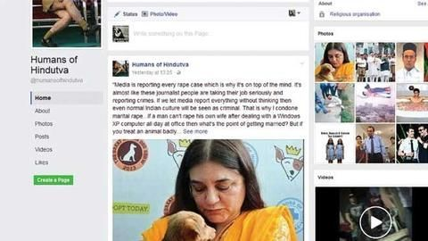 'Humans of Hindutva' page quits Facebook after admin claims receiving death threats