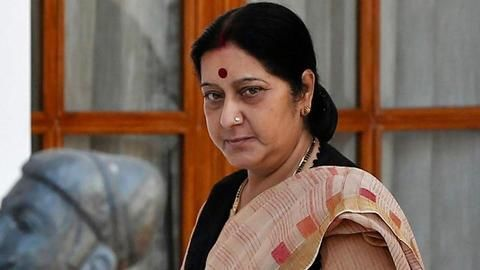 Sushma Swaraj 'strongly raises' HIB visa issue in meeting with Rex Tillerson