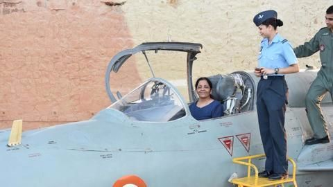 How has Nirmala Sitharaman spent her week?