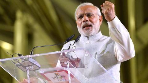 Modi defends demonetization in Myanmar