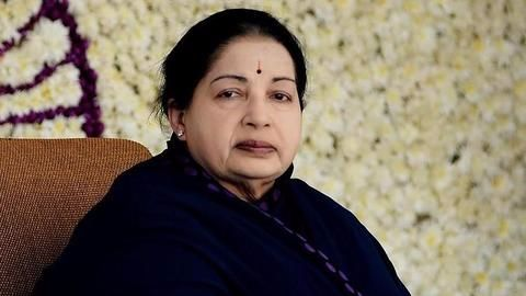 Jaya death anniversary: Black-clad EPS,OPS lead silent march