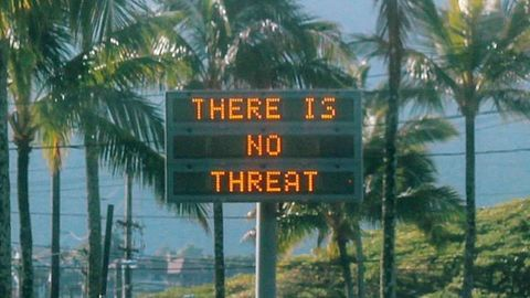 Was Hawaii under threat of a missile attack?