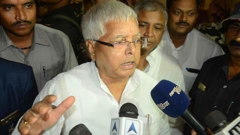 What are Lalu's complaints in prison?