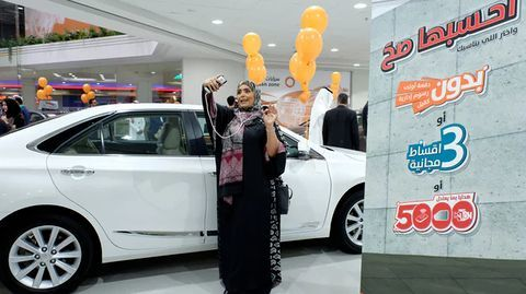 What's the latest breakthrough for women in Saudi?