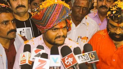 Gujarat polls: New Hardik Patel sex-CDs