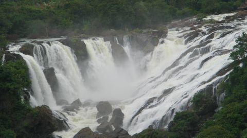 Trespassing charges on Bengaluru man stuck at waterfall