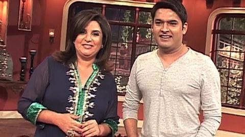 Kapil Sharma replies to Farah Khan's comment