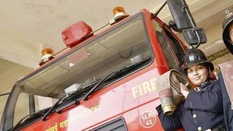 Mumbai fire brigade hires 97 women as firefighters
