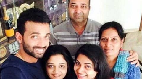 Rahane's father detained by police