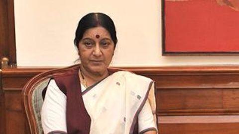 Sushma Swaraj defends herself