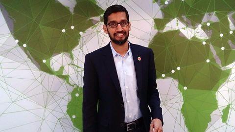 An outline of Sundar's tryst with Google
