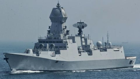 India's biggest indigenously-built warship commissioned