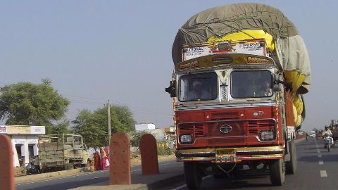 Truckers go on strike seeking 'toll free' India