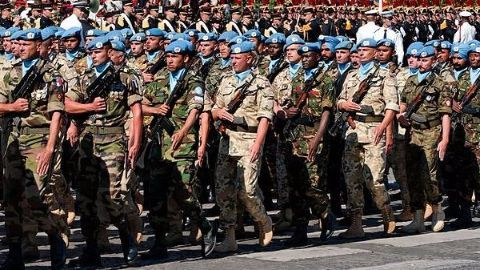 Who provides UN Peacekeepers?