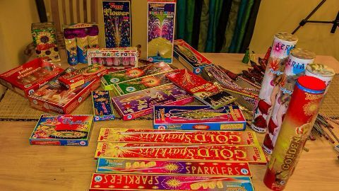 Toddlers' petition for ban on bursting crackers