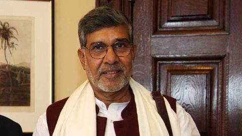 Kailash Satyarthi receives prestigious Harvard award