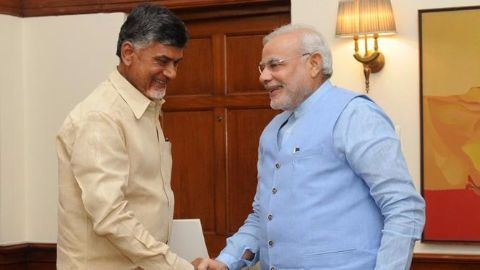 Andhra's new capital Amaravati inaugrated by PM Modi