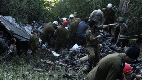 Most passengers killed, three survivors
