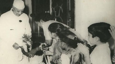 Nehru's birthday becomes a day for Indian children