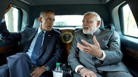 Modi leaves for India after 2-day Paris summit