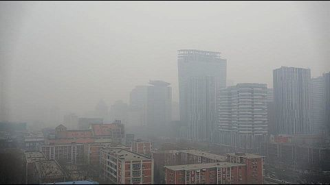 Beijing faces its first pollution 'red alert' day