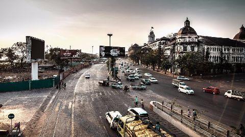 The Rangoon Stock Exchange starts trading