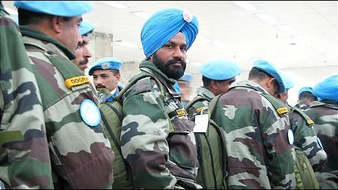 India's contribution to UN peacekeeping forces