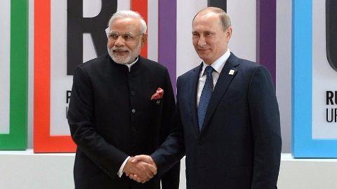 Modi wraps up Russia visit
