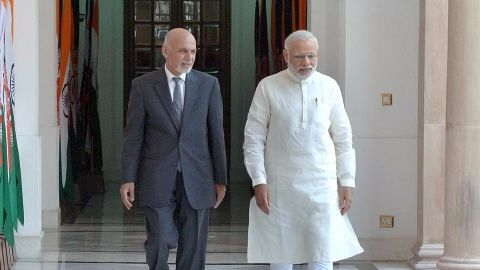 India's history with Afghanistan