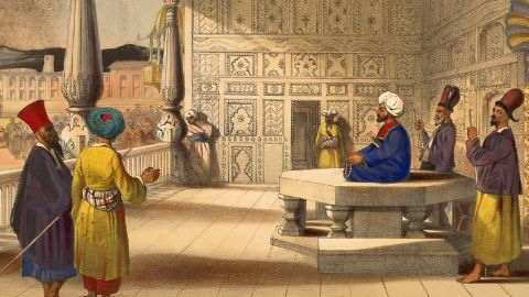 Early history: The Maurya empire, the Mughals