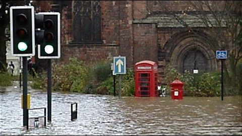Boxing Day marred by floods
