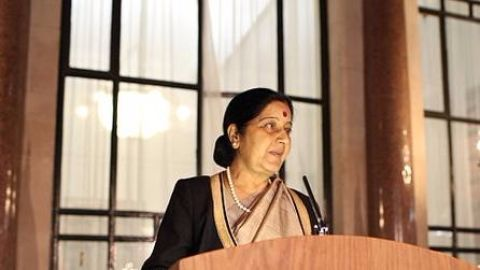Sushma Swaraj announces MEA-MOIA merger
