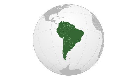 Indians living in South America