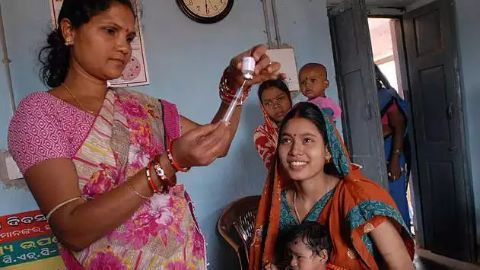 Maternal health improves in India