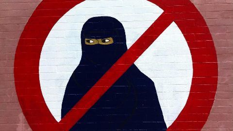 France bans face-covering burqa