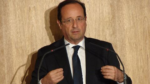 French President arrives on bilateral visit