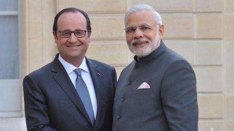 India, France sign 16 deals
