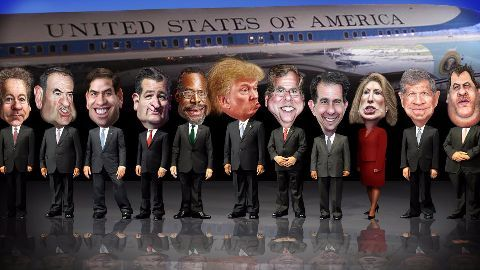 What is the GOP debate?