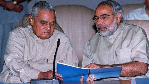 Modi introduces anti-terror bill; Vajpayee sends it back