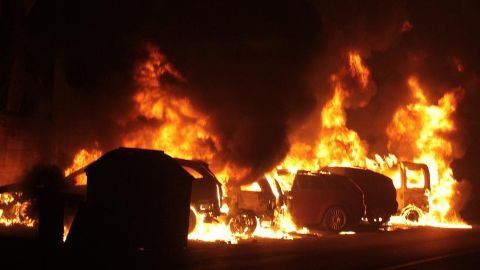 Kapu protestors set police station, trains and vehicles on fire
