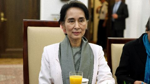 Myanmar's first democratic parliament session in 50 years