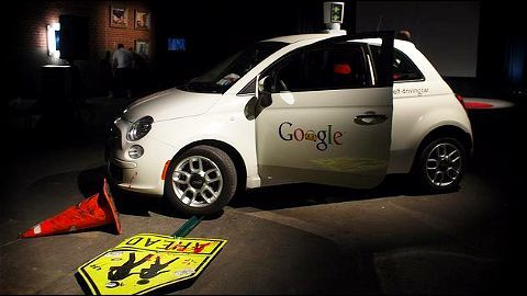 Google self-driving car collides with a bus