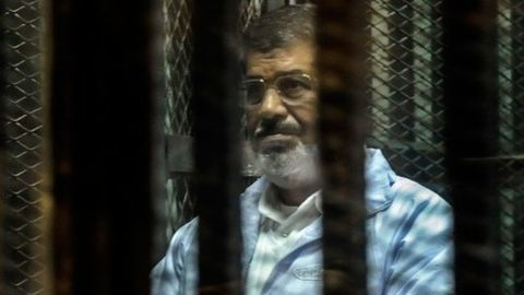 Morsi convicted for 20 years