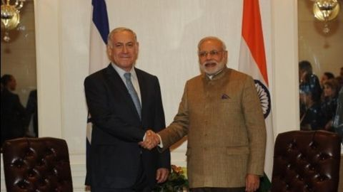 Modi to visit Israel and Palestine