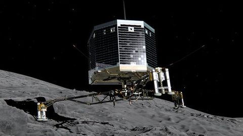 Philae wakes up from hibernation after 7 months!