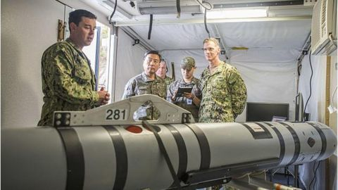 US military UUV seized by China