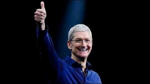Apple CEO Tim Cook's Annual Pay Jumps 47 Percent to $12.8 Million