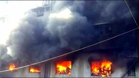 Mumbai: Juhu under-construction building fire survivors