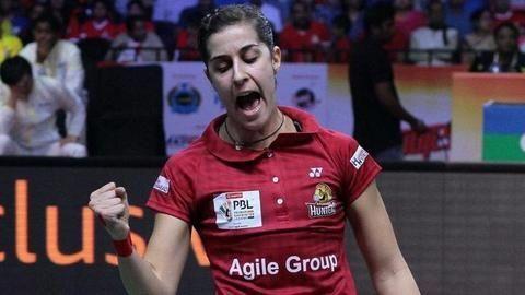 PBL: Carolina Marin guides Hyderabad Hunters to victory